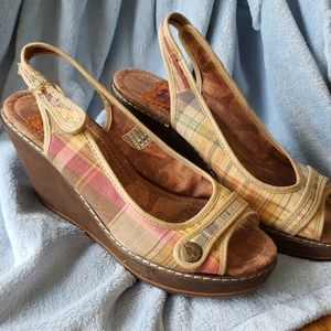 Used but fun summer wedges